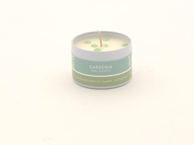 Dotty Candle Small - Gardenia_0