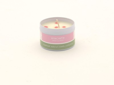 Dotty Candle Small - Hyacinth